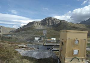 Desarrollan un sistema por control remoto para medir movimientos de tierra.